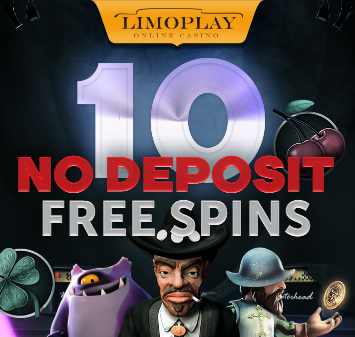 Limoplay exclusive free spins, no deposit required